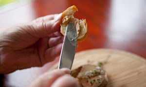 Foie gras is spread on to bread. 'I understand the pushback,' said one chef.