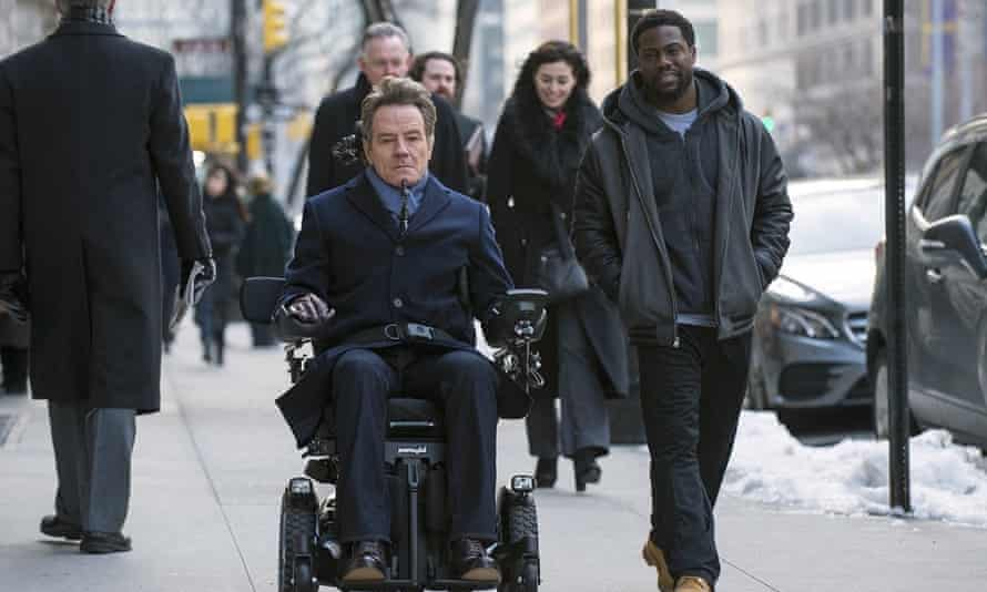 Bryan Cranston has defended his role as a wheelchair user in the comedy-drama The Upside.