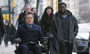 Bryan Cranston and Kevin Hart in The Upside.