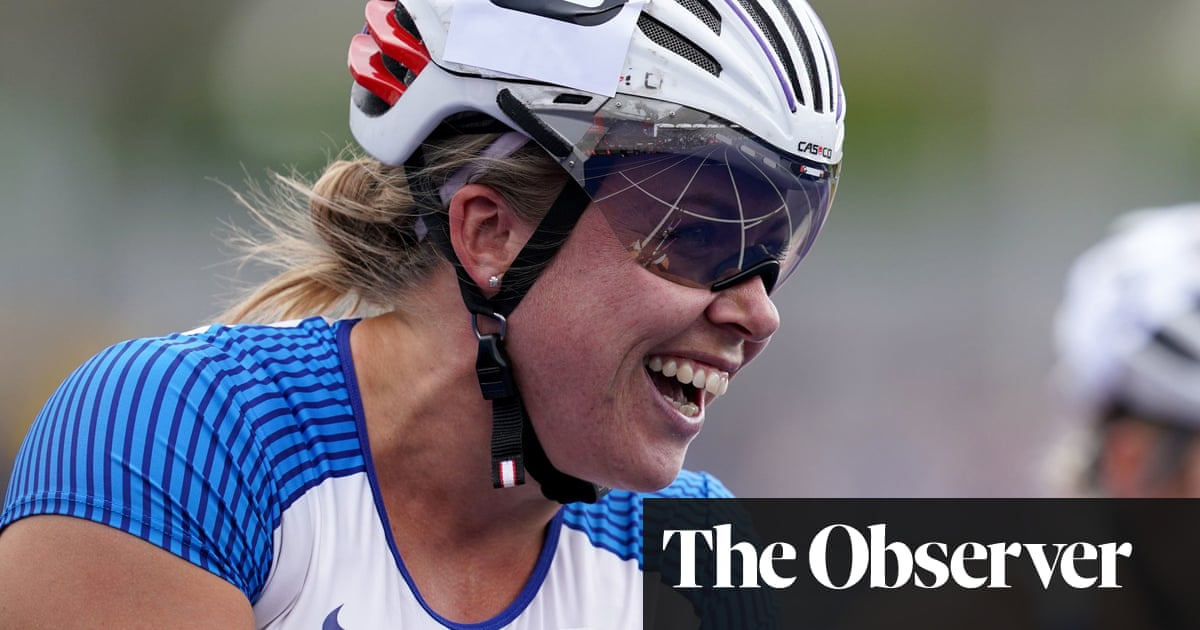 Hannah Cockroft: 'I'm excited that I'm not training in my garage any more'