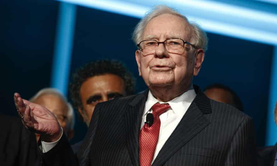Warren Buffett in New York on 7 November 2020.