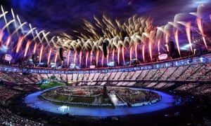 The 2012 Olympic opening ceremony