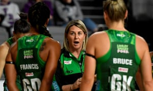 West Coast Fever head coach Stacey Marinkovich
