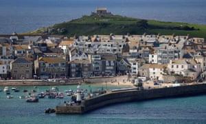 Carbis Bay, Cornwall. (Photograph: Tom Nicholson/Reuters)