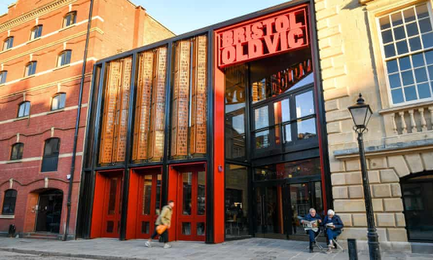 Front of the Bristol Old Vic theatre.
