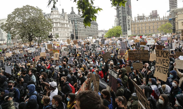 Now is the time': London's Black Lives Matter rally looks like a turning point | US news | The Guardian