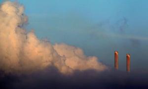 Vapour rises from Liddell Power Station near Muswellbrook, NSW, Australia, November 2, 2011.