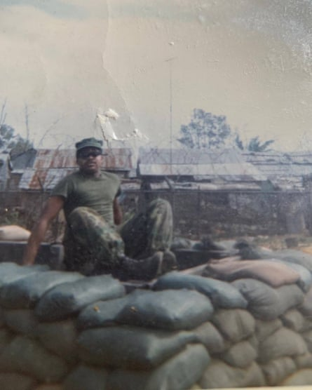 Larry Doggette in Chu Lai, Vietnam, 1970.