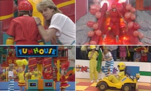 'You've won a ruler!' … Fun House, with Pat Sharp and the pompom-twirling Funette twins.