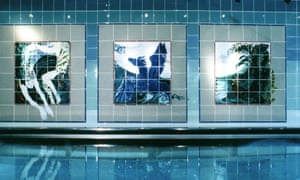 Maggie Angus Berkowitz's tiles bring life to the hydrotherapy pool at Chapel Allerton hospital, Leeds