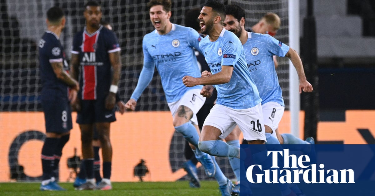 Manchester City 'to suffer' against PSG in search of Champions League history
