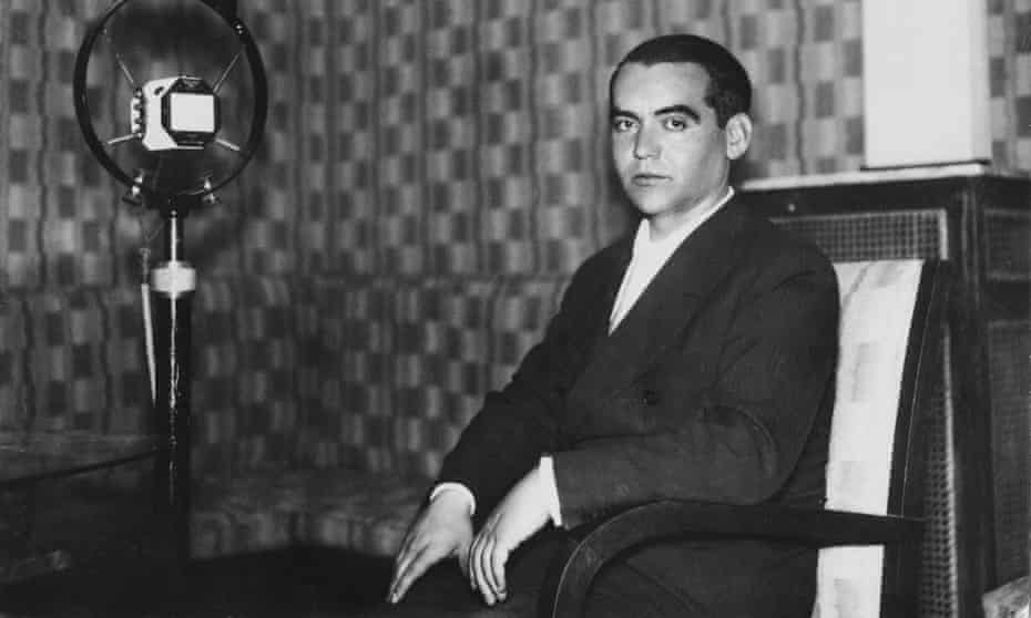 """Federico García Lorca, whose poem """"Desire"""" was translated by Tomás Sergeant, the winner of the 14-and-under category."""