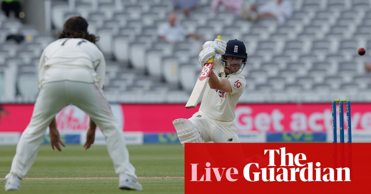 England v New Zealand: first Test, day three – live!