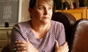 Corrie McKeague's mother, Nicola Urquhart, at home in Fife.
