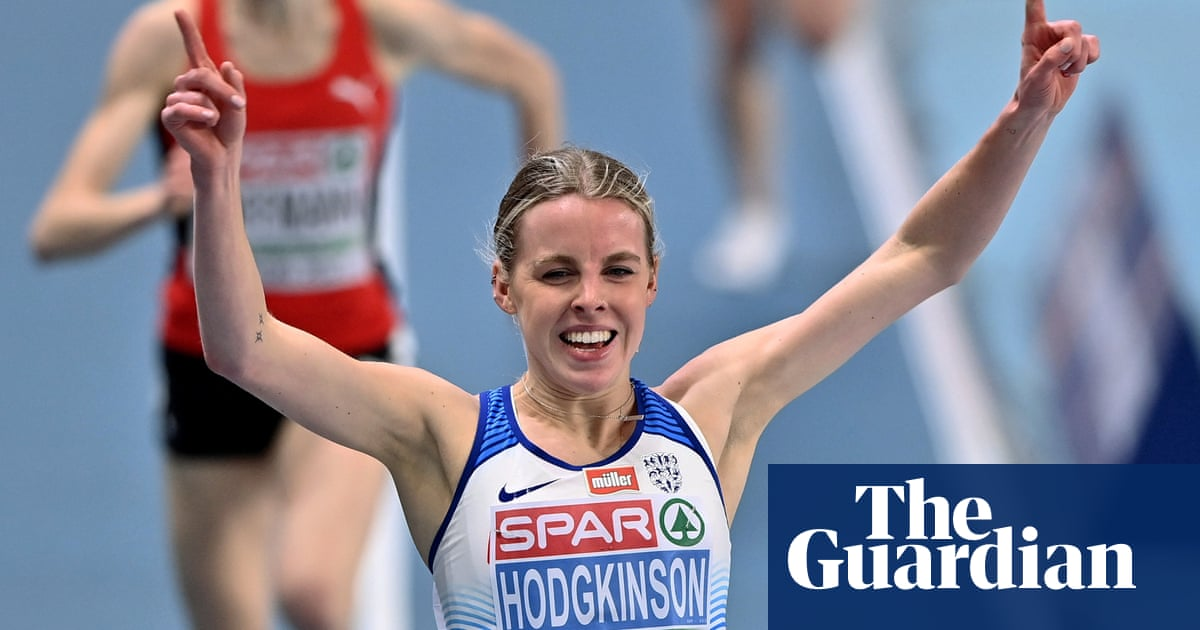 Keely Hodgkinson claims historic indoor gold as Britain match record haul