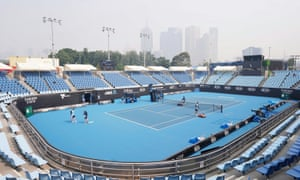 Australian Open Players Affected By Bushfire Smoke