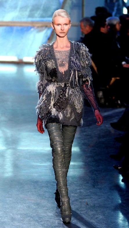 Damsel in distress … Rodarte fashion show, autumn/ winter 2009