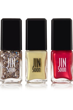 Nail polish (set of 3), £38, Jinsoon net-a-porter.com