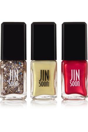 Nail polish (set of 3), £38, Jinsoon net-a-porter.com