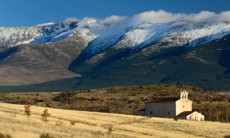 The Guadarrama mountains, near Madrid, traversed by both Lee and Macfarlane
