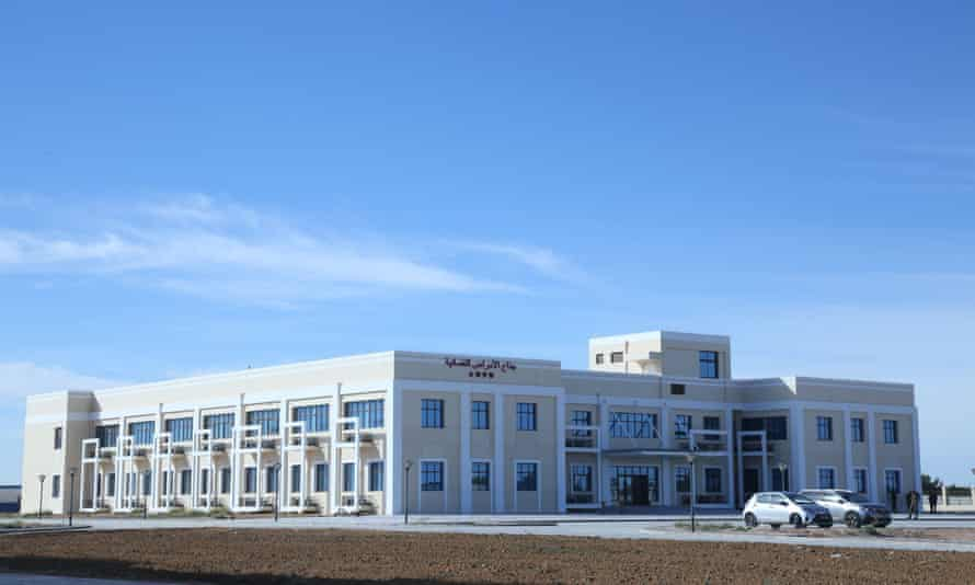 The hospital in Sfax province, south-east Tunisia.