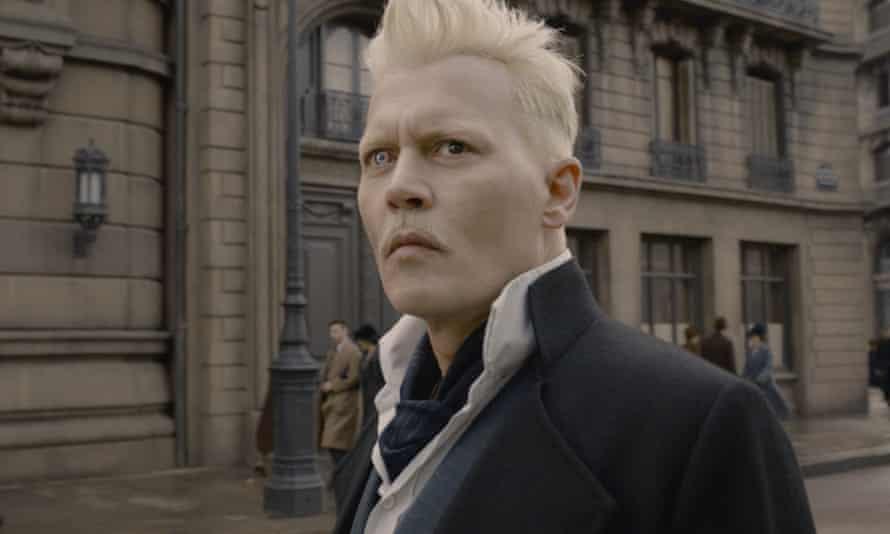 Johnny Depp in the film