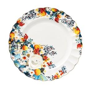 Botanica dinner plate (28cm), £88 for a set of four, anthropologie.com