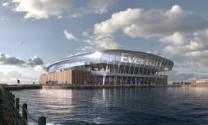 Everton's proposed new stadium will make a compelling presence on the city's waterfront skyline.