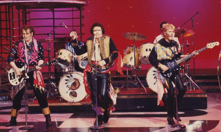 Adam and the Ants on American Bandstand.