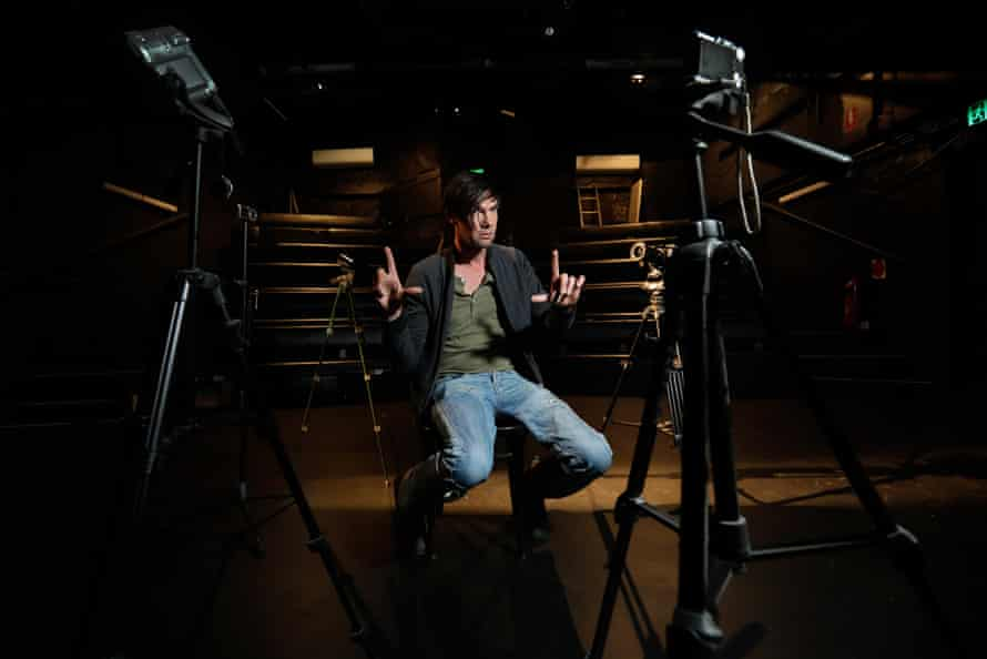 Red Line Productions is putting on two live-streamed seasons of shows. One will feature actor Toby Schmidt performing a one-man play called Thom Pain.