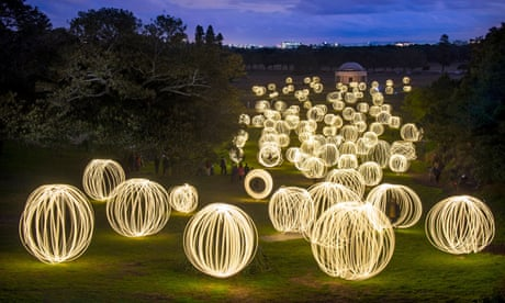 Light painting: Peter Solness's illuminated landscapes – video