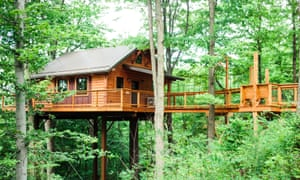 Take a bough: a top treehouse in Berlin Woods.