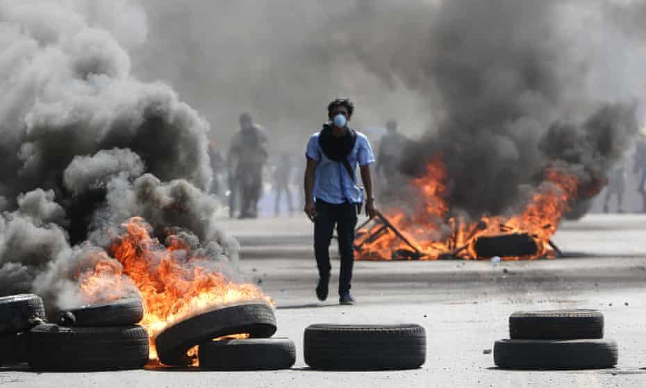 Nicaragua protester