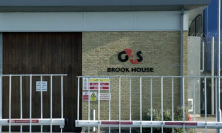 Brook House immigration removal centre, near Gatwick, which is being handed over from G4S to Serco in May