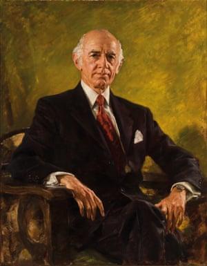 The Rt Hon. William McMahon GCMG CH, 1973.Ivor Hele (1912–1993)
