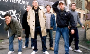 The archetypal British hooligan, as depicted in the film Green Street.