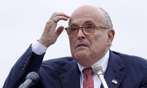 Giuliani said: 'It would be in written form and if you want to follow up on our answers, justify it. Show us why you didn't get there the first time.'