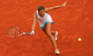 'I think I got disappointed in some way by tennis,' says Dinara Safina, pictured during the 2008 French Open.