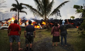 The village of Volcano has avoided much of the destruction of Kilauea, while molten rock has wiped out the homes of residents downhill.