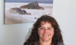 Amanda Nally, owner of a USB stick found inside some seal faeces