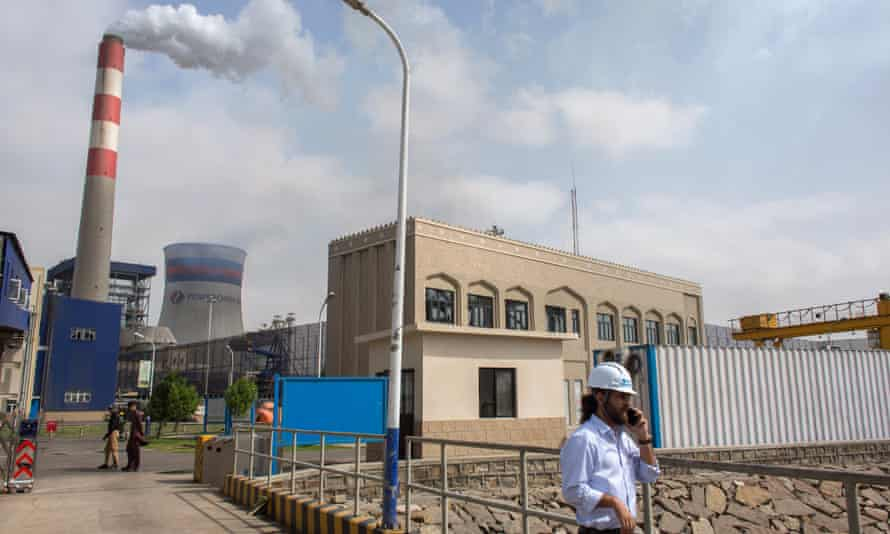 The Chinese-built Port Qasim coal power plant in Port Qasim, Pakistan.