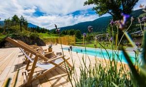 Pool at Mountain Hostel Tarter in Andorra