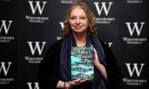 Hilary Mantel at the midnight launch for The Mirror and the Light at Waterstones Piccadilly in London on 4 March.