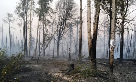 The McKinley Fire is a 4,000 acre blaze about 80 miles about 80 miles north of Anchorage, which started over the weekend and continues to blaze.