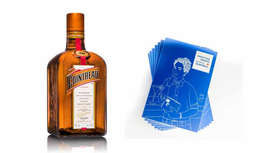 A bottle to share and a travel book written by Alfred Cointreau, full of bar recommendations and anecdotes from drinking spots all over the globeGift set, £32harveynichols.com