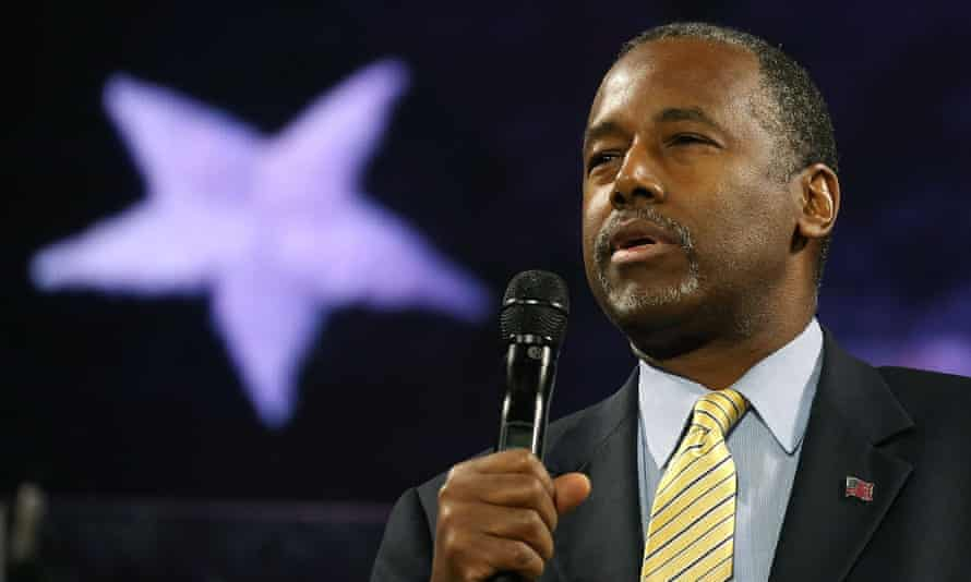 Ben Carson told the audience at Liberty University