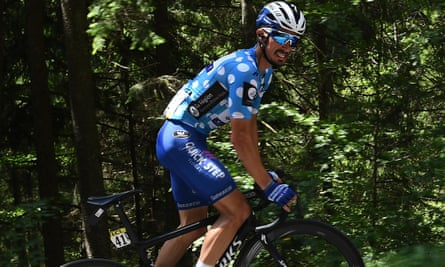 France's Julian Alaphilippe: king of the climbers