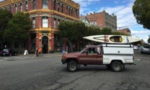 street scene in Port Townsend