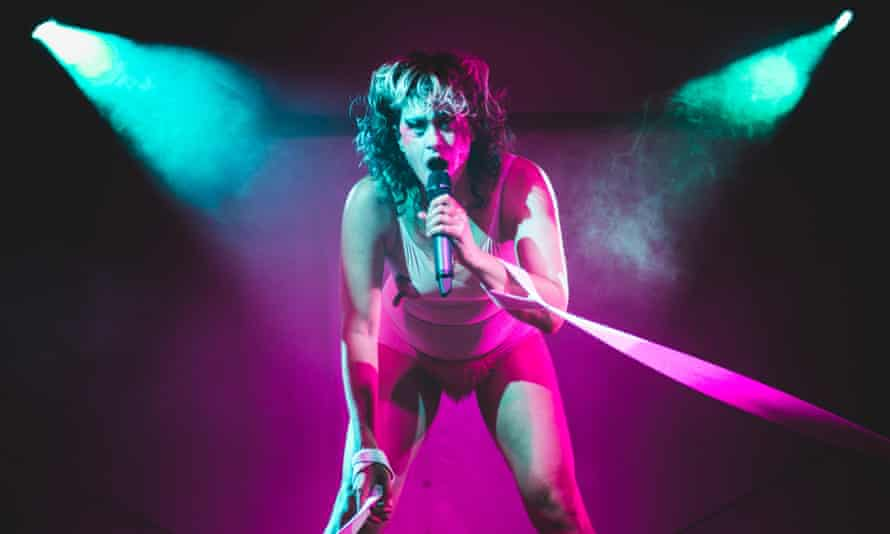 '500% of my energy' … Peaches performing live in Italy in 2017.