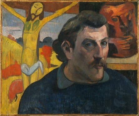 Gauguin's Portrait of the Artist With the Yellow Christ.